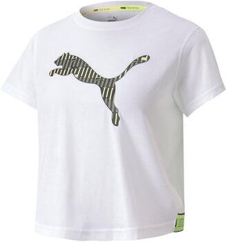 Puma Camiseta de manga corta training Logo SS mujer