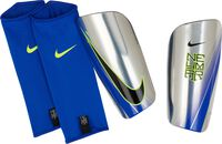 Espinilleras fútbol Nike Neymar Mercurial Lite Gris