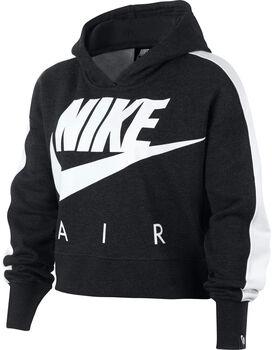 Nike G NSW CROP PE AIR niña Negro
