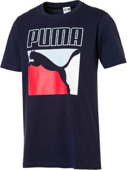 Puma Camiseta Graphic Box Logo hombre