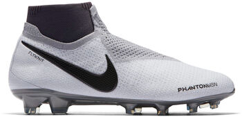 Nike Phantom Vision Elite Dynamic Fit FG Cesped Gris