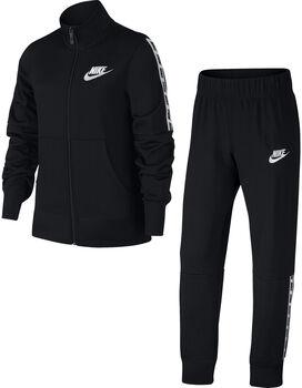 Nike Nsw TRK SUIT TRICOT niña Negro