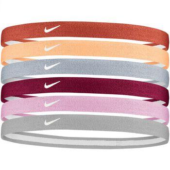 Nike Accessories Cintas Pelo Swoosh (Pack 6Uds)