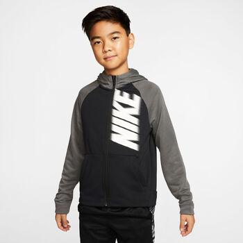 Nike Chaqueta Dri-FIT Big Kids' niño Negro