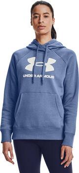 Under Armour Sudadera Rival Fleece Logo mujer Azul