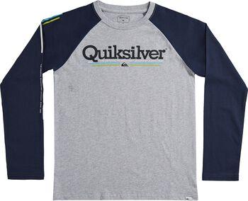 Quiksilver Camiseta Manga Larga Tropical Lines Jr niño