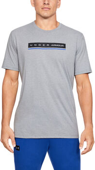 Under Armour Camiseta de manga corta UA Reflection para hombre Gris