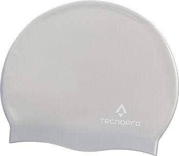 TECNOPRO Gorro Natación Silicona Gris