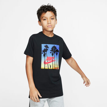 Nike Camiseta m/c B NSW TEE AIR SUNSET niño