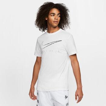 Nike Camiseta manga corta Dri-FIT entrenamiento hombre Blanco