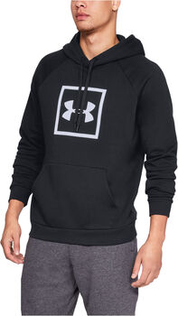 Under Armour RIVAL FLEECE LOGO HOODY hombre Negro