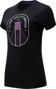 New Balance Camiseta Graphic 22 Maratón NYC mujer