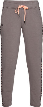 Under Armour Pantalón Featherweight Fleece mujer Gris