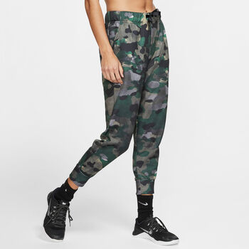 Nike Pantalones Dri-FIT Rebel Fleece 7/8 mujer