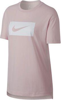 Nike Sportswear Tee Drop Tail Swsh Pk Mujer Rojo