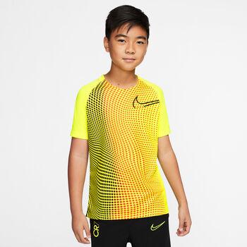Nike Camiseta Manga Corta CR7 B NK DRY TOP SS Amarillo