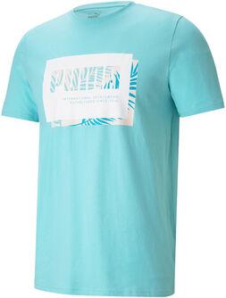 Camiseta manga corta Summer Court Graphic