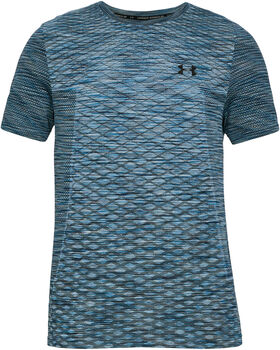 Under Armour Vanish Seamless SS Novelty hombre Azul