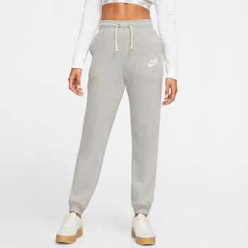 Nike Pantalón Sportswear Gym Vintage Wo mujer Gris