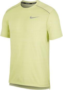 Nike Camiseta m/cNK DRY MILER TOP SS hombre Amarillo