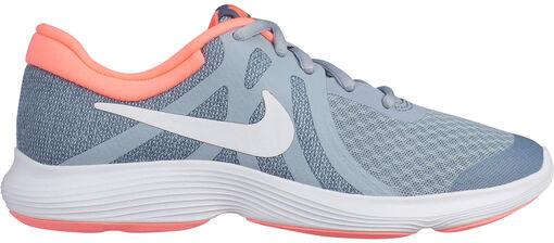 Nike - Revolution 4 (GS) - Unisex - Zapatillas Running - Gris - 35dot5
