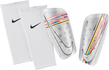 Nike Espinilleras de fútbol CR7 Mercurial Lite Blanco