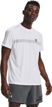 Under Armour Camiseta Manga Corta Speed Stride Graphic hombre Blanco