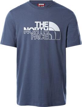 The North Face Camiseta manga corta Campay hombre Azul