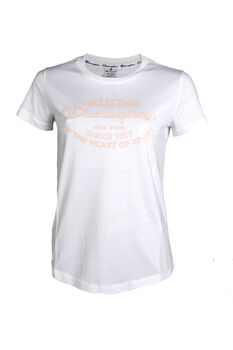 Champion Camiseta Cuello Caja Mujer 'Crop Top'