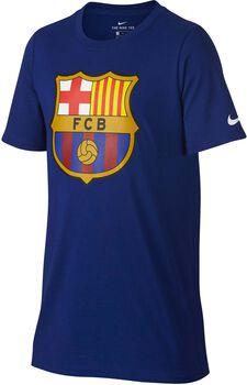 Camiseta fútbol FC Barcelona Nike Tee Evergreen Crest Niños Azul