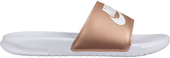 Nike Benassi Jdi Mujer Blanco