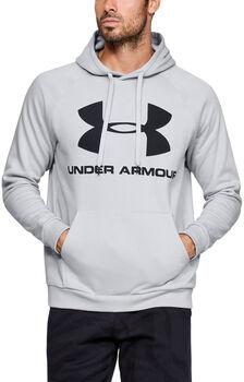 Under Armour Sudadera con capucha de tejido Fleece y logotipo Rival hombre