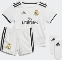 Conjunto fútbol Real Madrid adidas H BABY Bebé