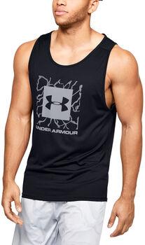 Under Armour Camiseta Sin Mangas Tech 2.0 Graphic hombre Negro