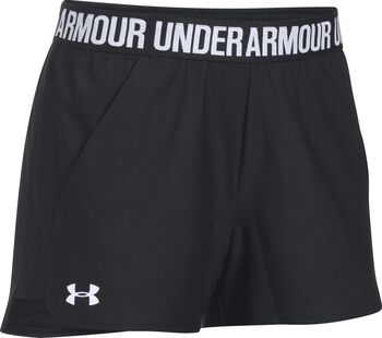 Under Armour Play Up Short 2.0 Mujer Negro