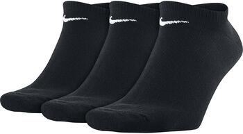 Nike Calcetines Cortos Value (3 Pares) Negro