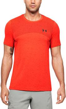 Under Armour Camiseta Manga Corta Seamless hombre Rojo