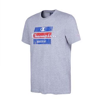 8812a15cc834f Champion Camiseta Cuello Caja Hombre