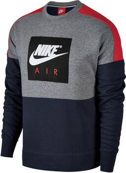 Nike Sportswear Crew Air Flc Hombre Negro