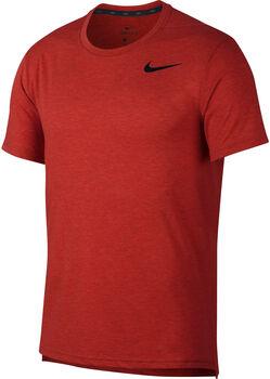 Nike Camiseta m/cNK BRT TOP SS HPR DRY hombre Rojo