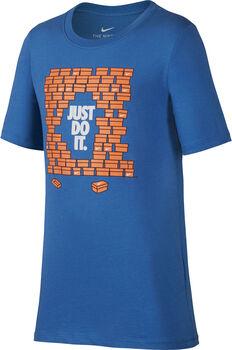 Nike b nsw tee shoebox jdi niño Azul