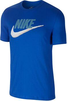 Nike Camiseta m/cNSW TEE BRAND MARK hombre Azul