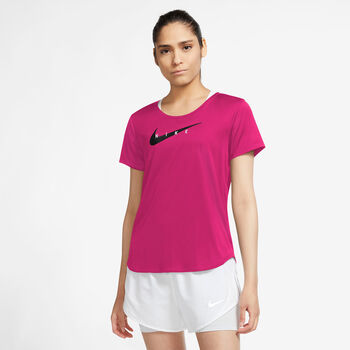 Camiseta manga corta Nike Swoosh Run mujer