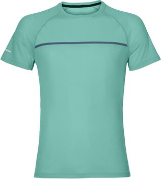 ASICS Short-Sleeved Top Hombre Verde