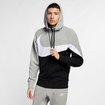 Nike Nsw HBR HOODIE FZ FT STMT hombre Gris