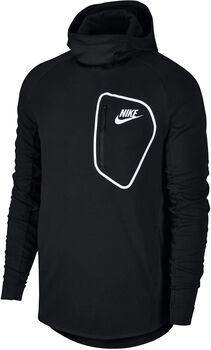 Nike Sportswear Advance15 Hoodie Flc Po Hombre Negro