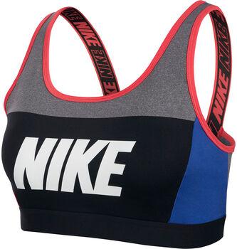 Nike Sujetador deportivo Sport Distort Classic mujer Gris