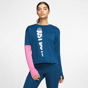 Nike Camiseta manga larga Therma Sphere Icon Clash mujer Azul