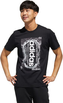 ADIDAS Camiseta Manga Corta M STDM GR T hombre