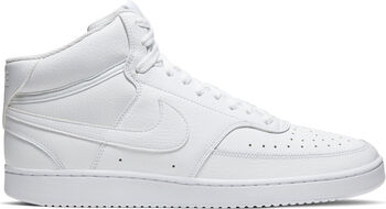 Zapatillas Nike Court Vision Mid hombre Blanco